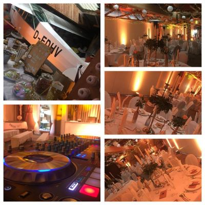 Flugplatz Am Habel Hinghausen   Wedding DJ
